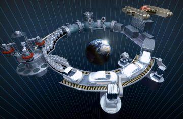 Représentation d'un circuit de production